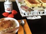 Гръцки сладкиш с кокос и маскарпоне